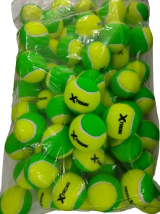 Bola Soft 1 Verde Xtreme  -  Saco com 60 unidades