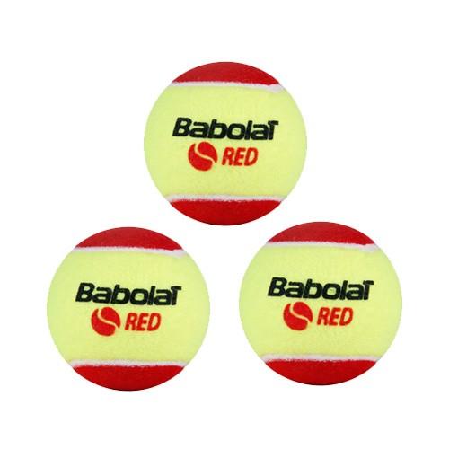 Bola Soft 3 Babolat Vermelha - 3 unidades