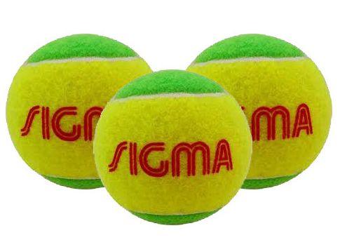 Bola Soft Sigma Estágio 1 Verde - 3 unidades