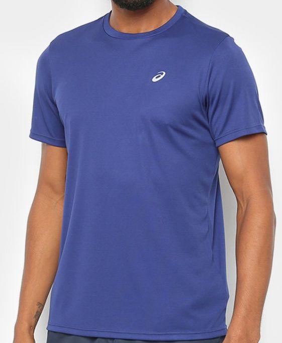 Camiseta Asics Core Masculina Azul