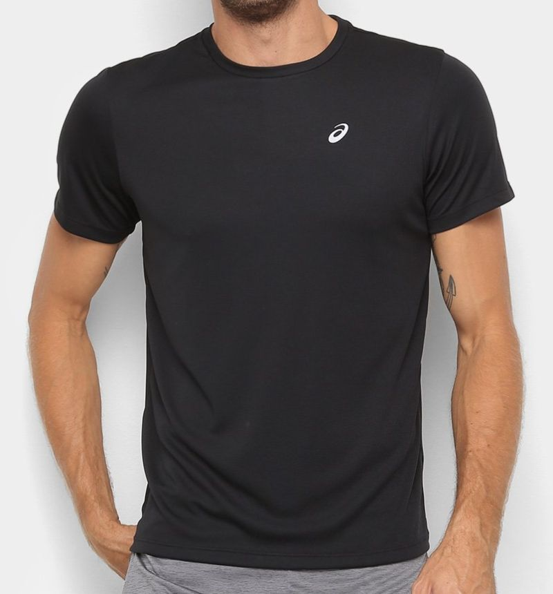 Camiseta Asics Core Masculina Preta