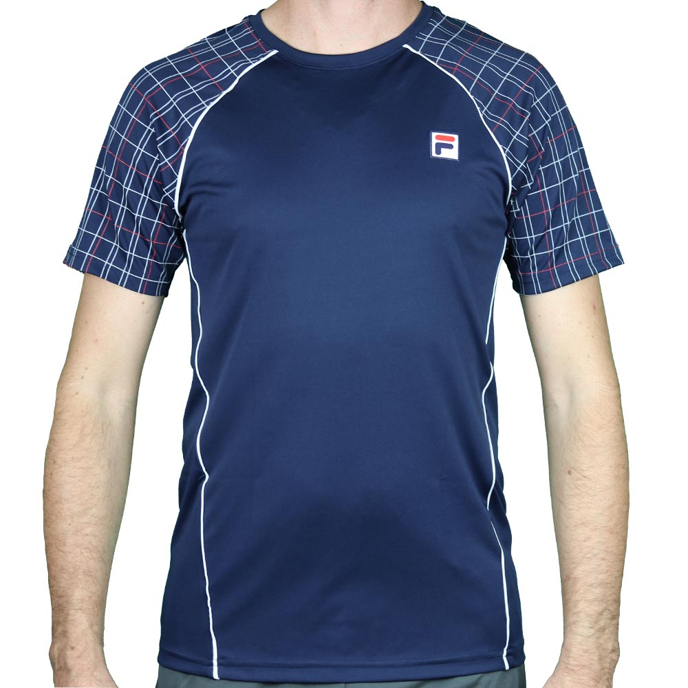 Camiseta Fila Masculina Cinci Square Marinho