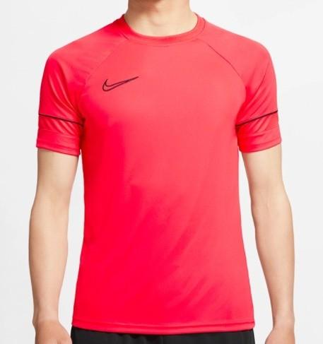 Camiseta Nike Dry-Fit Masculina Academy Top Vermelha e Preta
