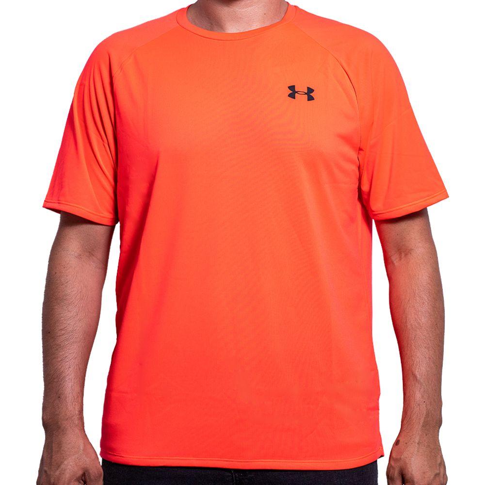 Camiseta Under Armour Masculina Tech 2.0 SS Vermelha