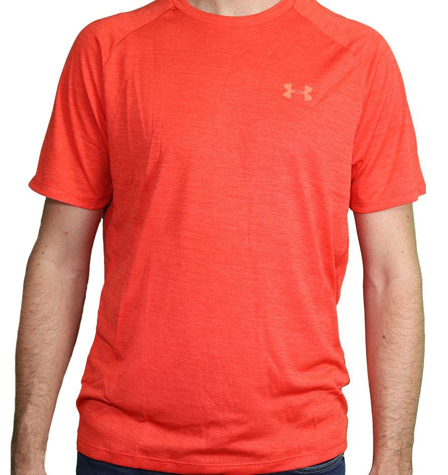 Camiseta Under Armour Masculina Tech 2.0 Vermelha