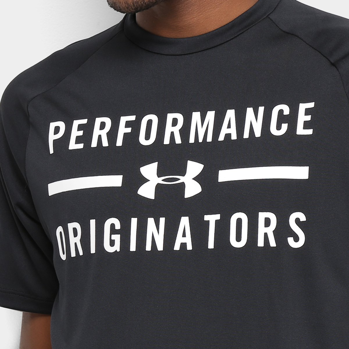 Camiseta Under Armour Masculina Tech Originators Preta