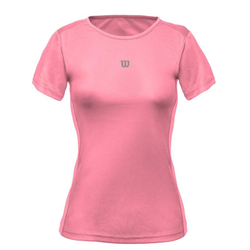 Camiseta Wilson Core Feminina Coral
