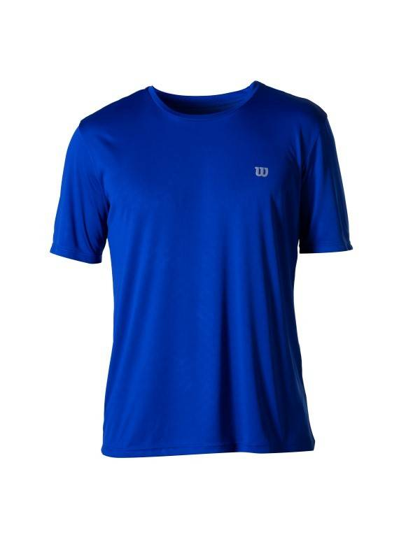 Camiseta Wilson Core Masculina Azul Royal