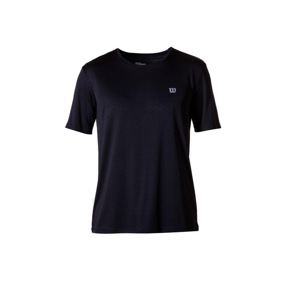 Camiseta Wilson Core Masculina Preta