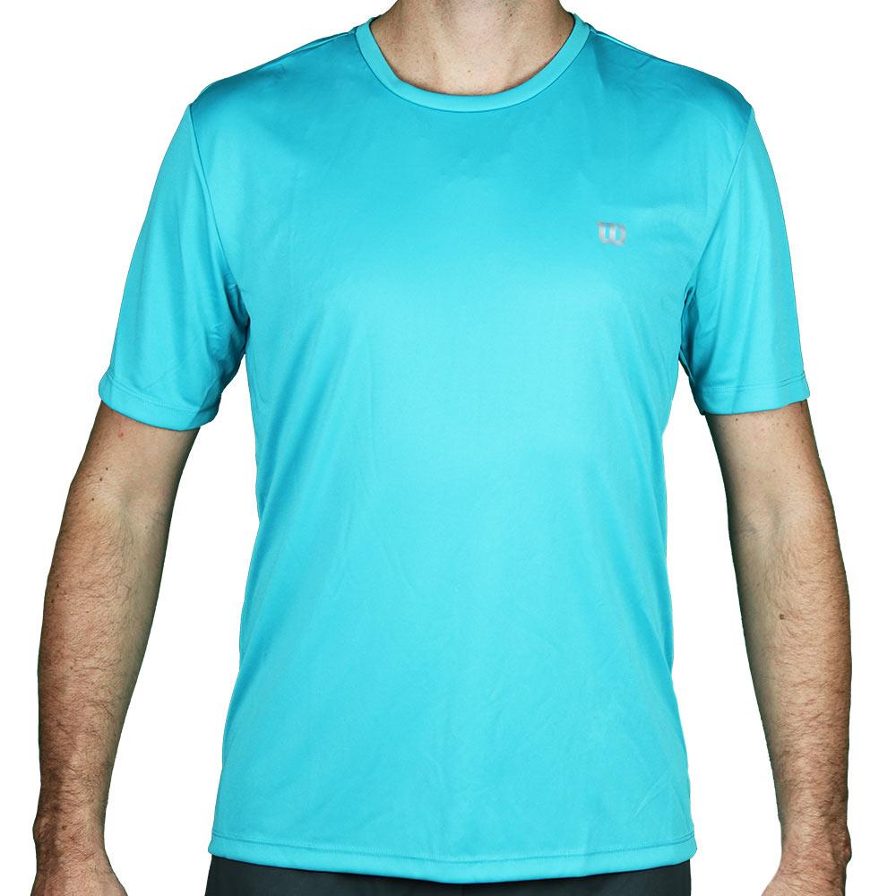 Camiseta Wilson Core Masculina Turquesa