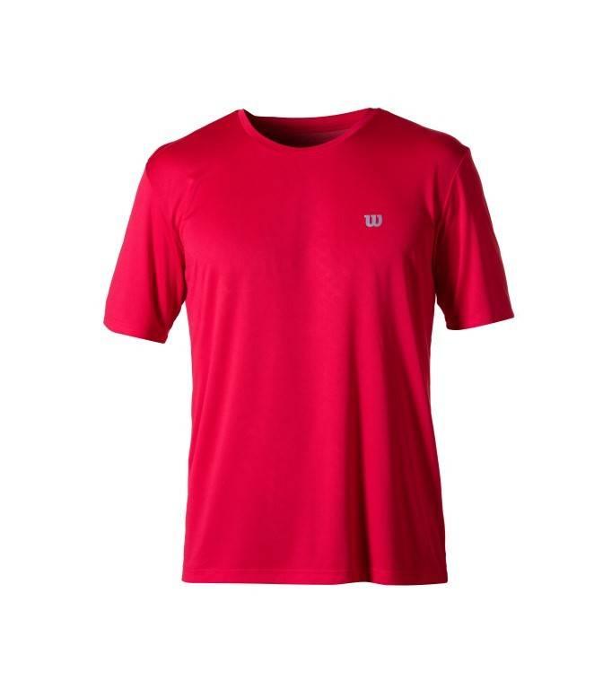 Camiseta Wilson Core Masculina Vermelha