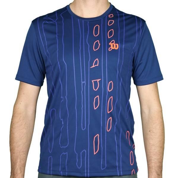 Camiseta Wilson Performance 2 Masculina - Azul Marinho