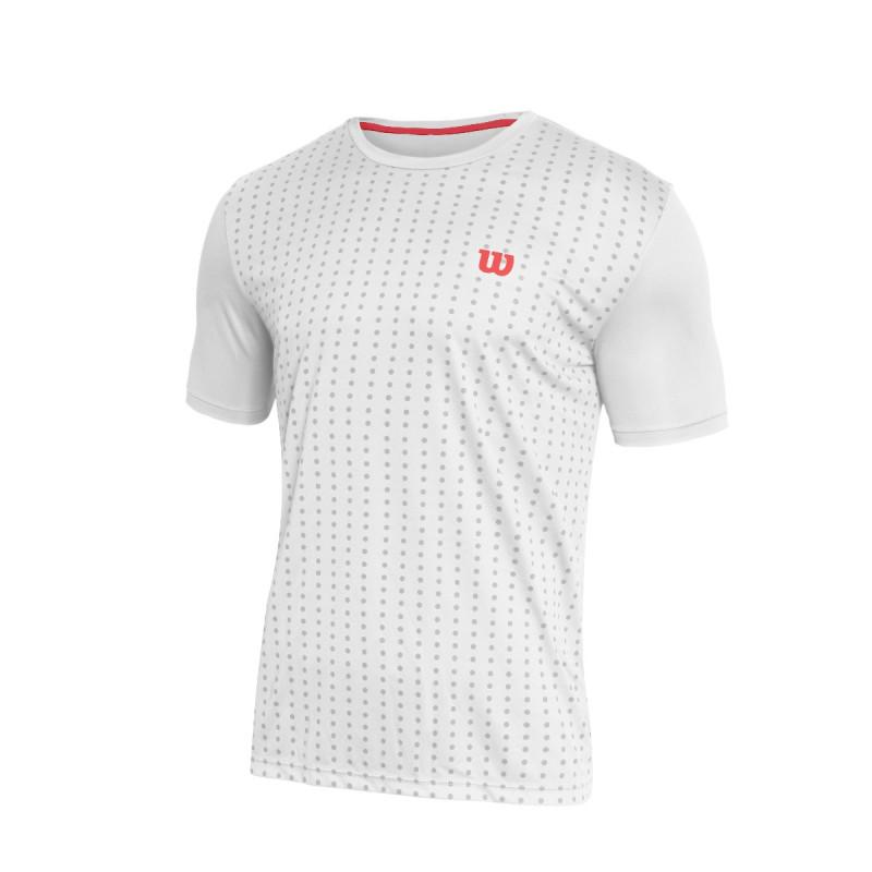 Camiseta Wilson Rush Masculina Branca