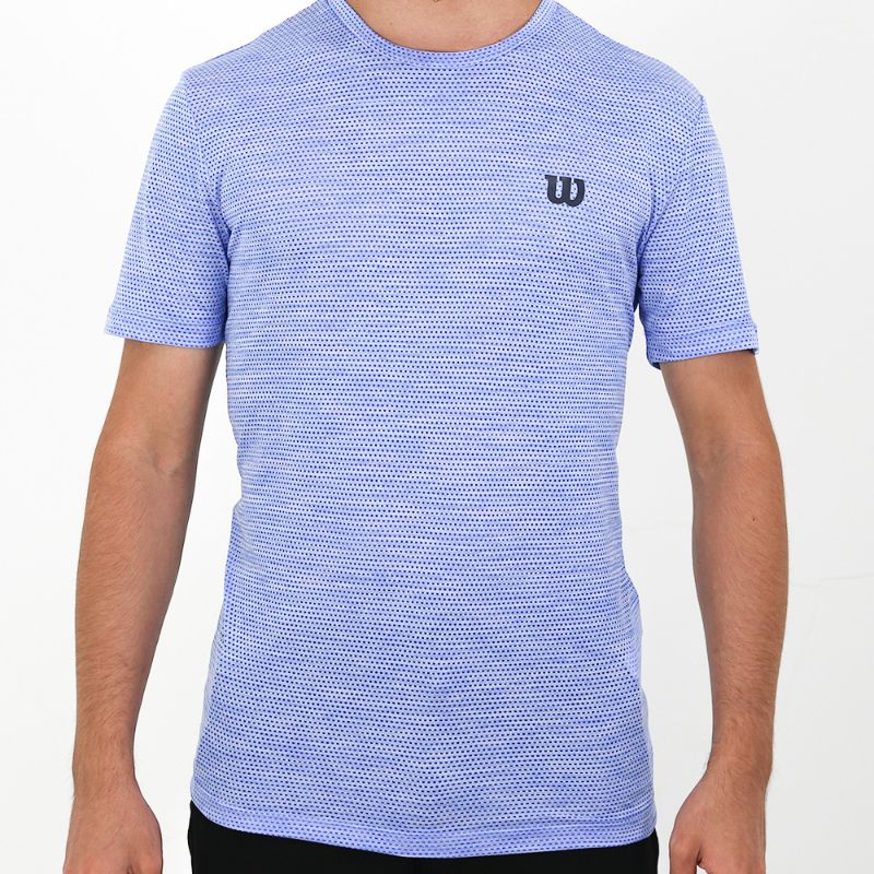 Camiseta Wilson Trainning X Masculina - Azul Royal