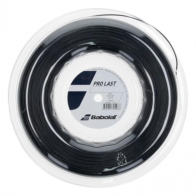 Corda Babolat Pro Last 17L 1.25mm Rolo 200m Preta
