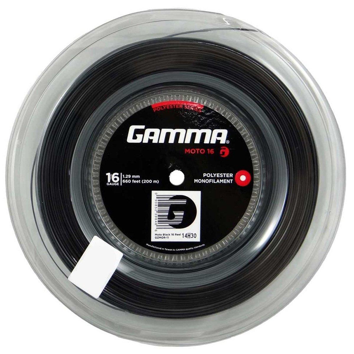 Corda Gamma Moto 16 1.29mm Rolo 200m Preto