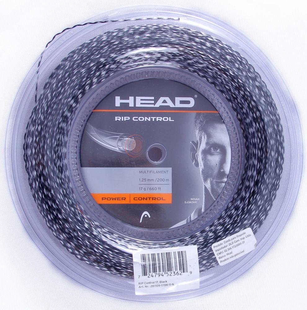 Corda Head Rip Control 17 1.25mm Preta - Rolo 200m
