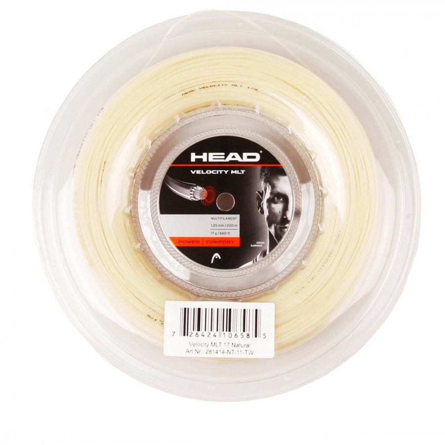 Corda Head Velocity MLT 16 1.30mm Natural - Rolo 200mm