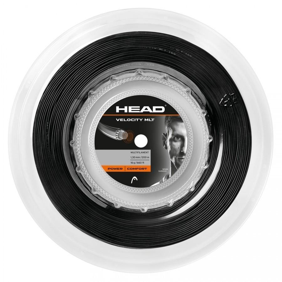 Corda Head Velocity MLT 16 1.30mm Preto - Rolo 200mm