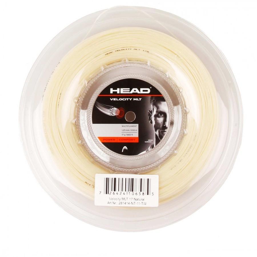 Corda Head Velocity MLT 17 1.25mm Natural - Rolo 200mm