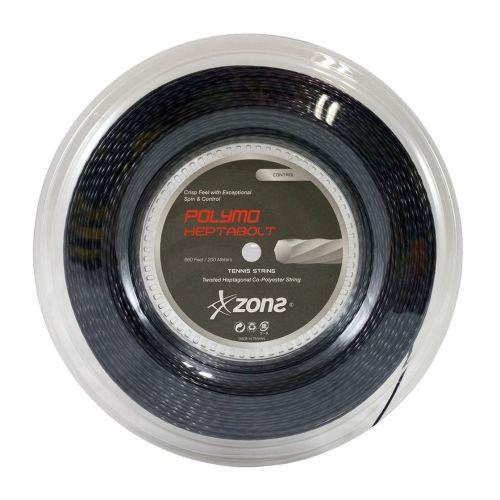 Corda Zons Heptabolt 16 1.25mm Rolo 200m Preta
