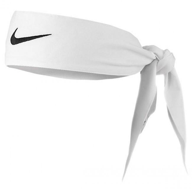 Faixa de Cabelo Nike Dri Fit Head Tie Branca