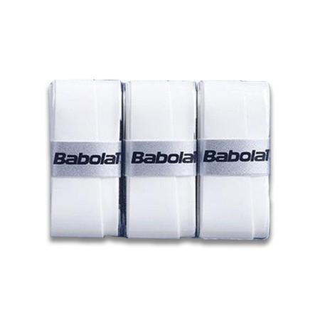 Kit com 3 Overgrips Babolat Pro Tour Comfort