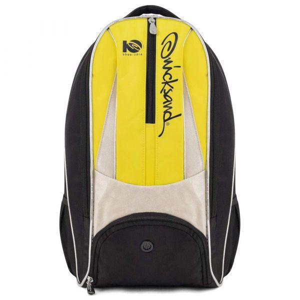 Mochila Beach Tennis Quicksand Sports Backpack Preta e Amarela
