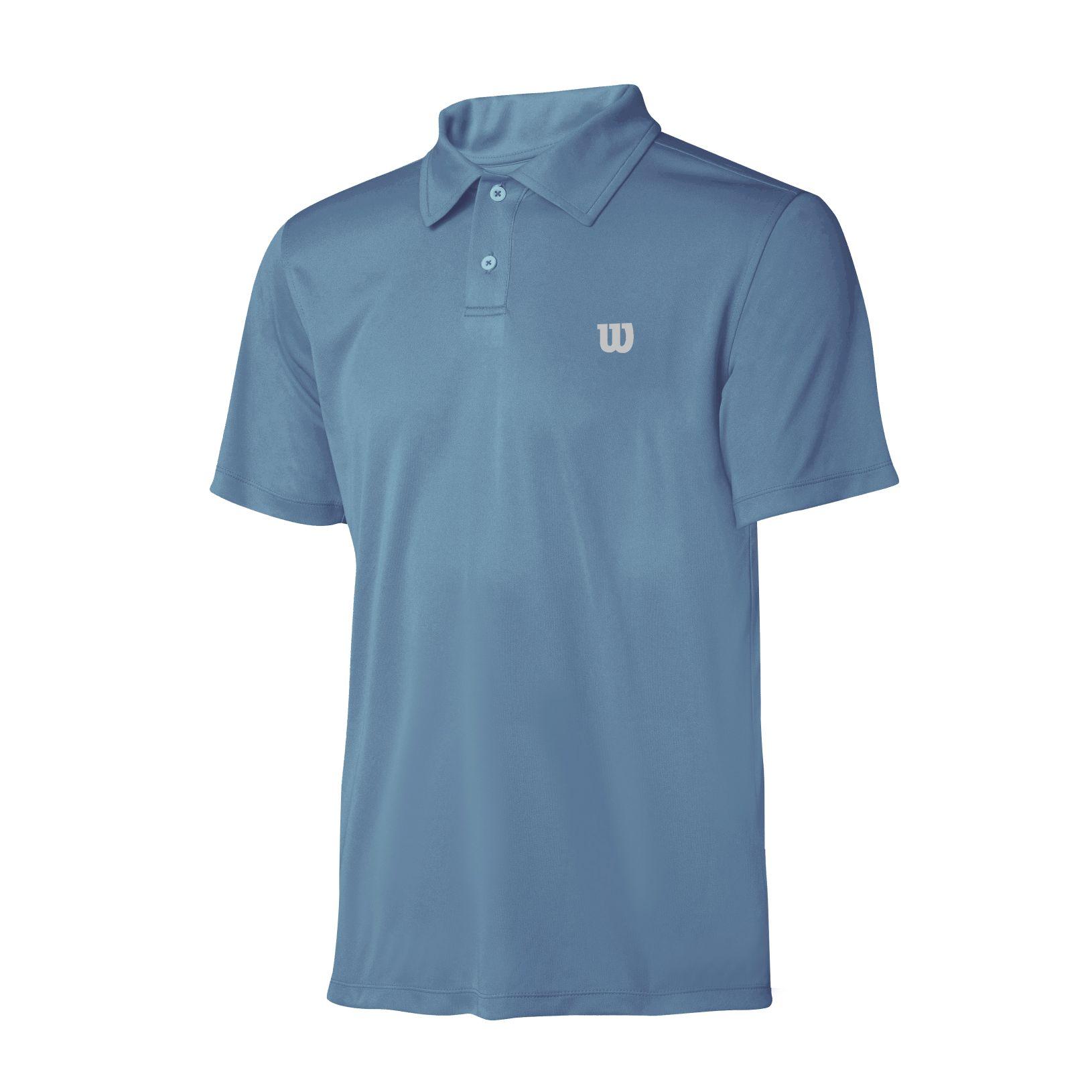 Polo Wilson Core Masculina Azul Copen