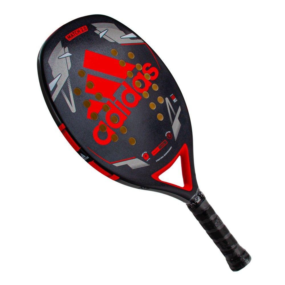 Raquete de Beach Tennis Adidas Match Bt 2.0 Vermelho