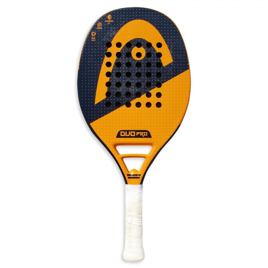 Raquete de Beach Tennis Head Duo Pro Azul e Laranja