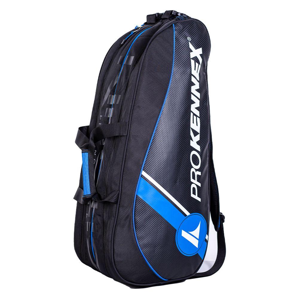 Raqueteira Prokennex Dupla Preta e Azul
