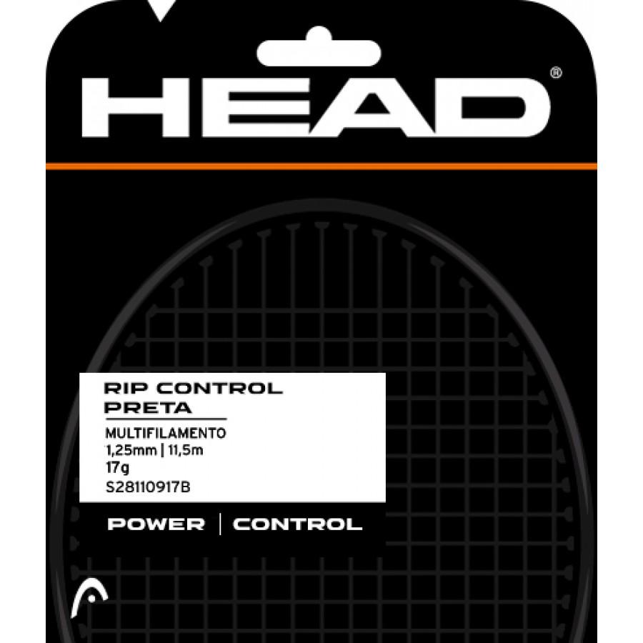 Set de Corda Head DLD Rip Control 17 1.25mm Preto