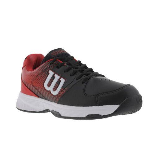 Tênis Wilson Ace Plus Mascullino Preto e Vermelho