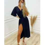 Vestido Gio Liso