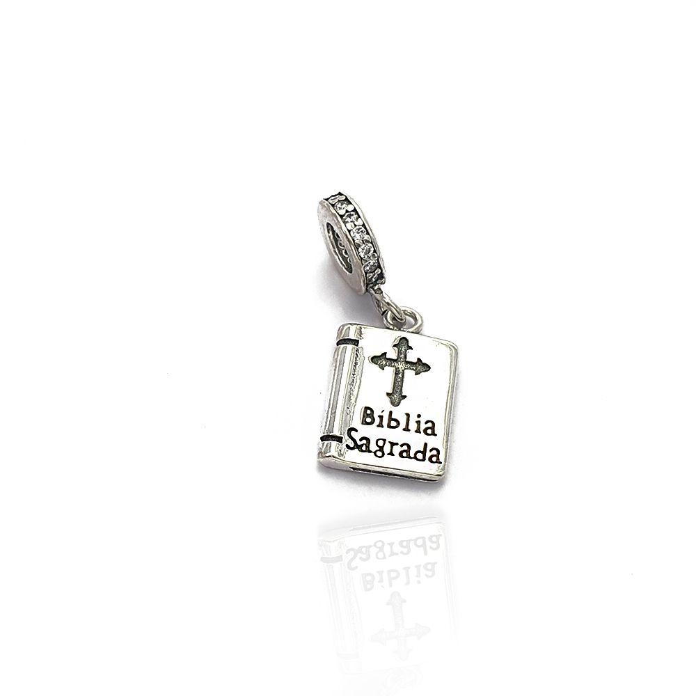 Berloque Prata 925 Bíblia Sagrada - 403015P