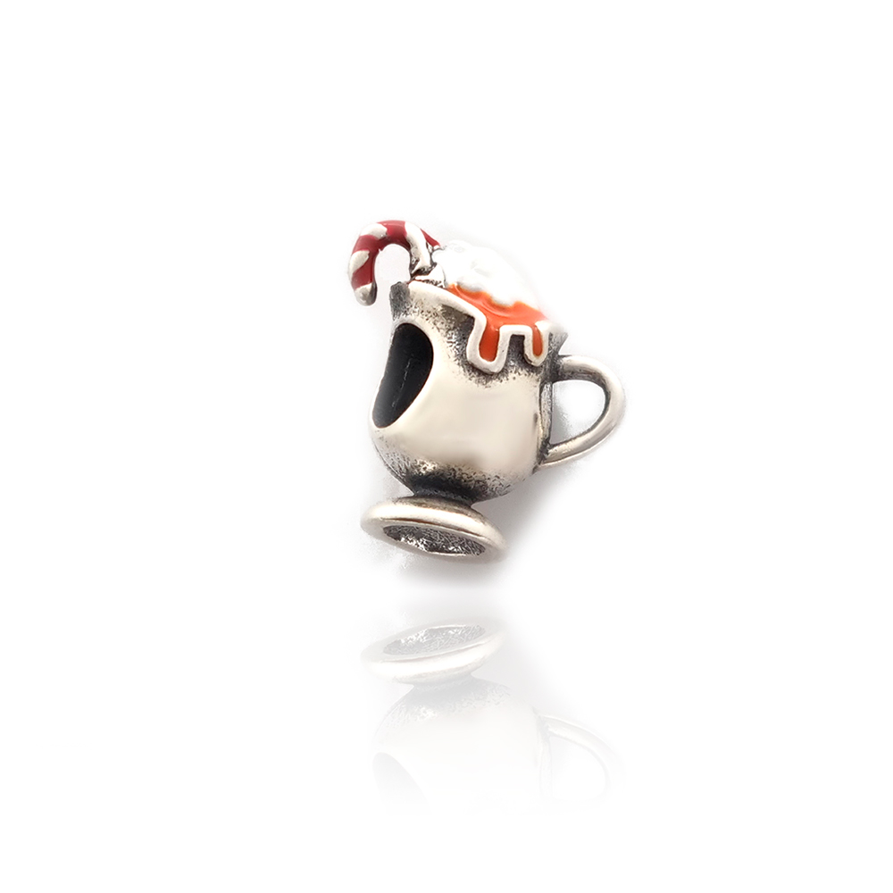 Berloque Taça com Shake Prata 925 - 403087P