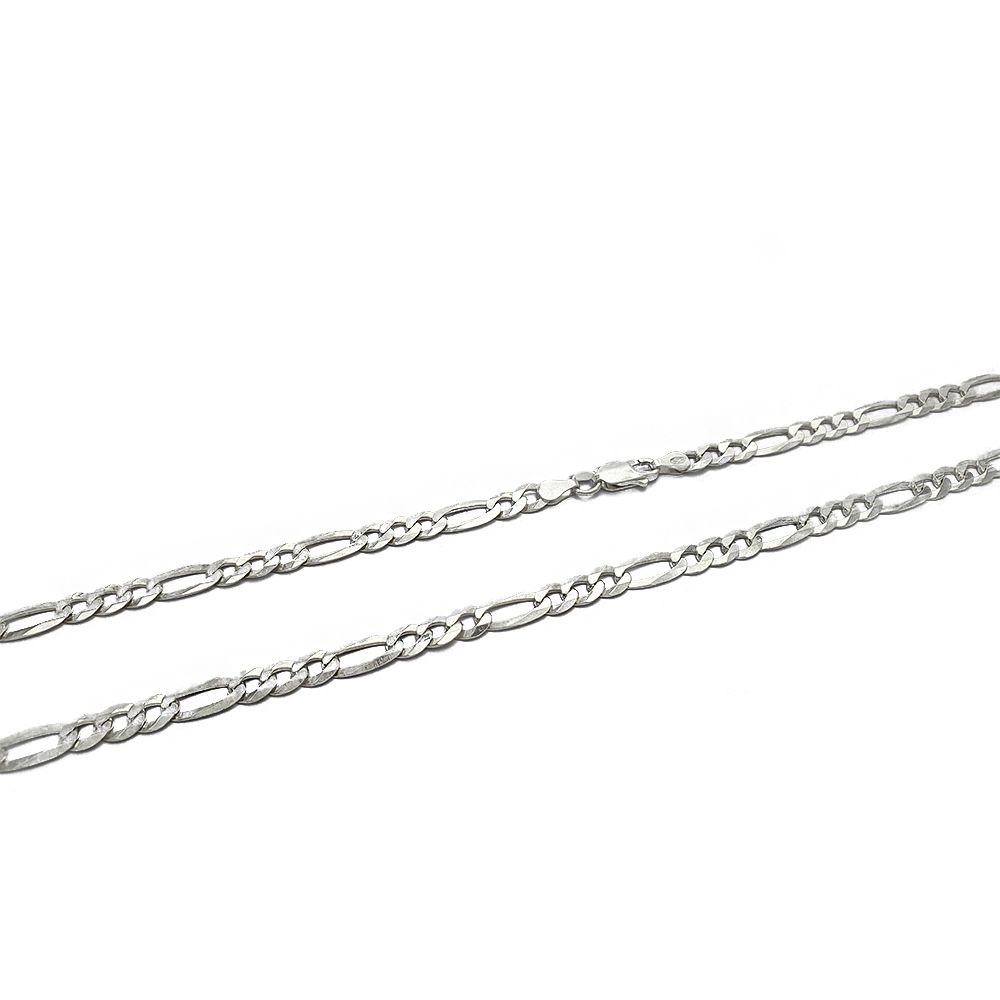 Corrente Prata 925 3x1 Masculina Grossa com 70 cm - 409001P