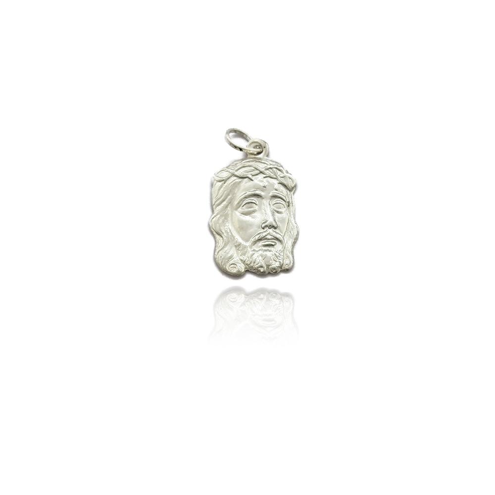 Pingente Face de Cristo em Prata 925 - 403060P
