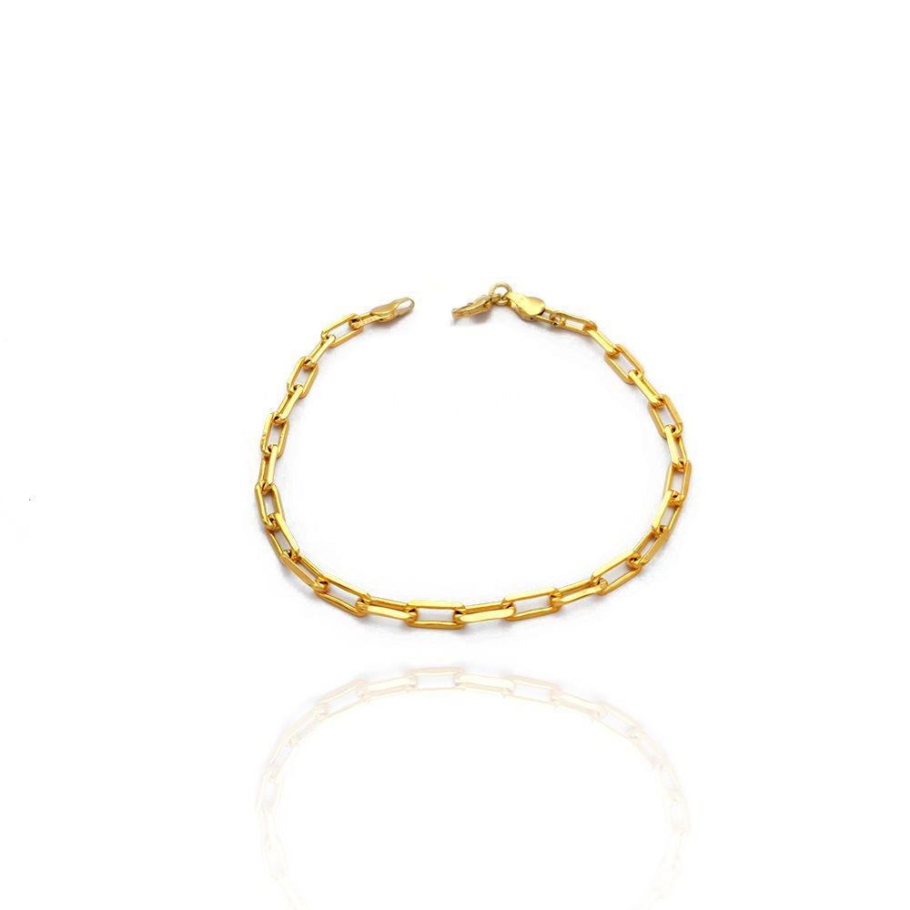 Pulseira Masculina Cartiers Diamantada com 21cm Semijoias - 8050104A