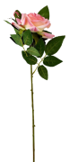 Rosa Aveludado Artificial 46 cm