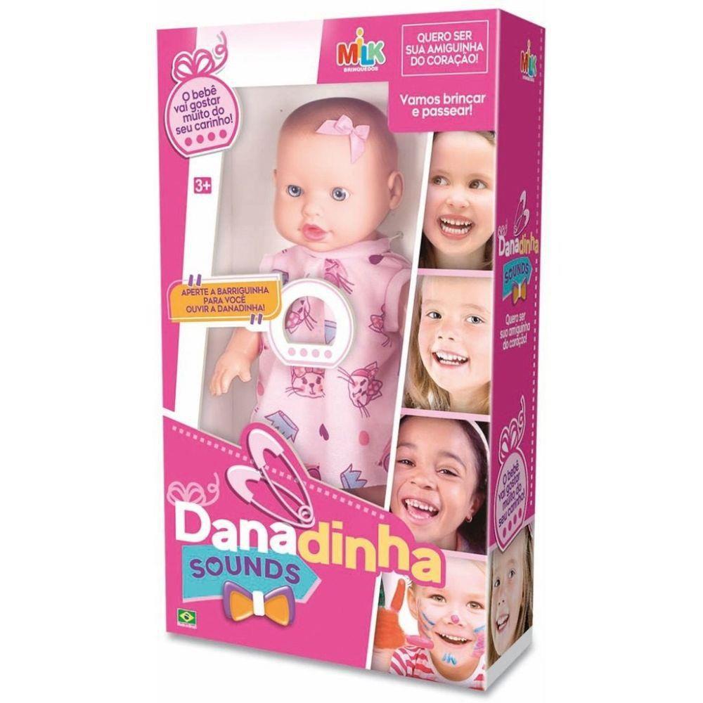 Boneca Milk Danadinha Sounds