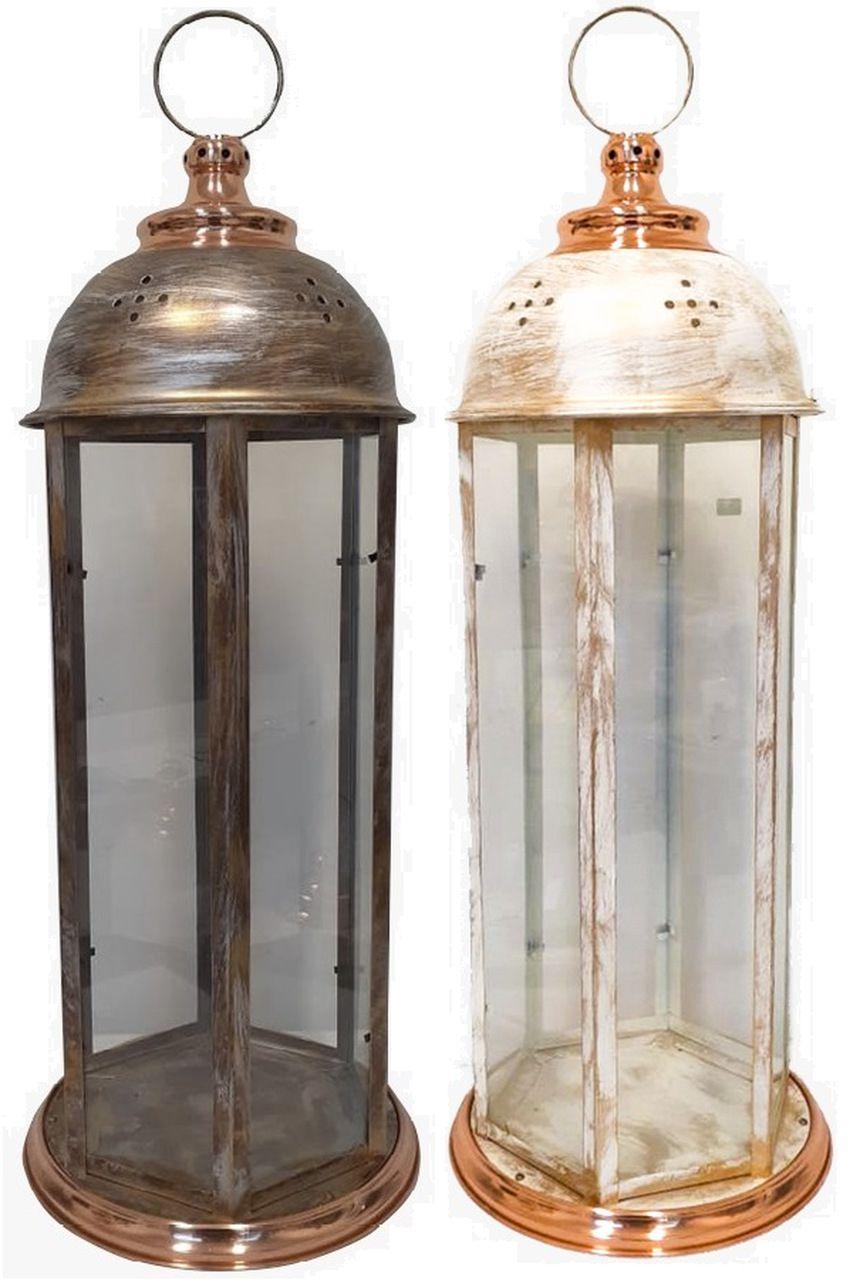 Lanterna com Cobre Grande 90 cm
