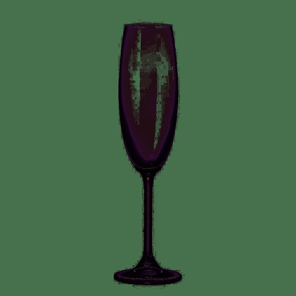 Taça de Champagne de Cristal Ecológico Sommelier 220 ml (UND).