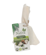 Condicionador Sólido Natural - Graviola e Coco - Nativa Eco-Cosmética