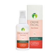Creme Facial Natural - Pele Oleosa - Cativa Natureza