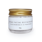 Creme Facial Natural - Restaurador - Hélli Cosmetics