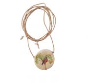 Difusor Pessoal - Pássaro Redondo 3cm - Atelier Petite Julie