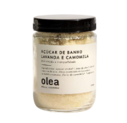 Esfoliante Açúcar de Banho Lavanda e Camomila - Olea