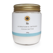 Hidratante Corporal Natural Intenso - Cocoa Butter - Hélli Cosmetics
